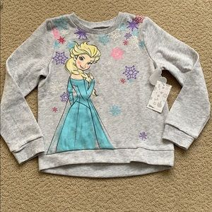 "NWT Disney Softest Fleece ""Frozen"" sweatshirt, 6x"